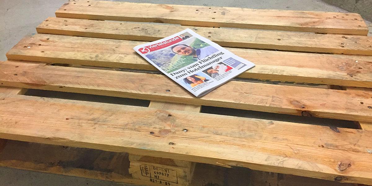 Alle Weihnachtszeitungen wurden verteilt.